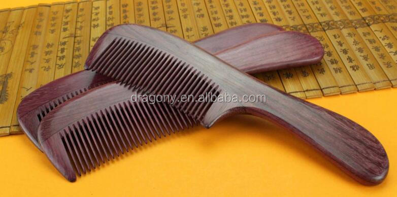 Handmade 100% Natural Violet Wood Wooden Comb