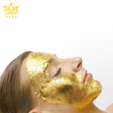 24K real gold leaf facial mask for beauty salon