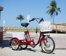 Cargo Electric 250w Little Electric Tricycle with cabin for elderly