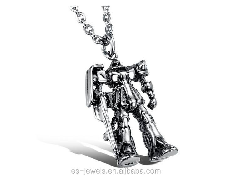 Hot sale transformers toys robot megatron necklace men