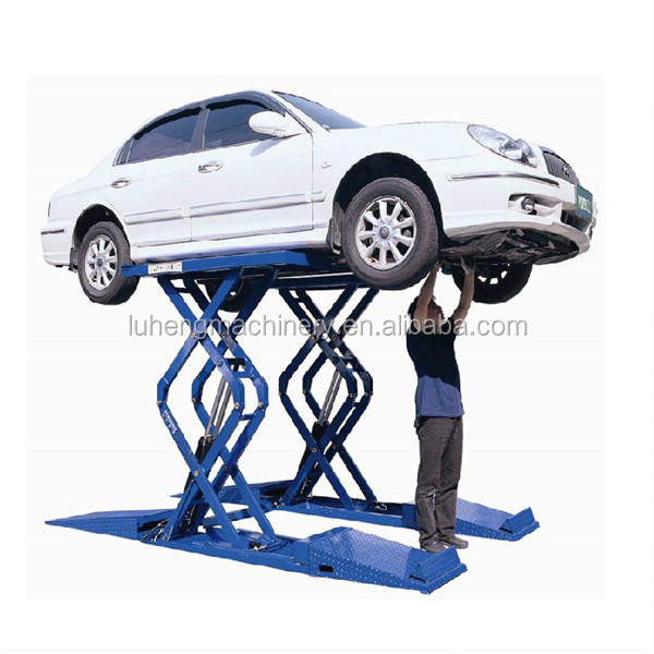LH company Car Elevator 3T Portable Car Lift Scissor Car Lifts