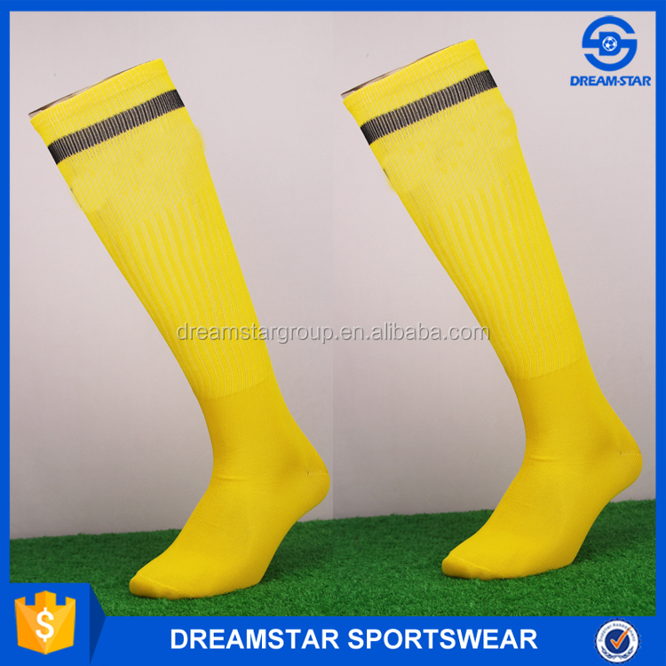 Wholesale Top Quality Low Price Long Socks Yellow
