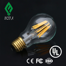 China supplier A19 A60 8W dimmable filament led bulb for home lighting