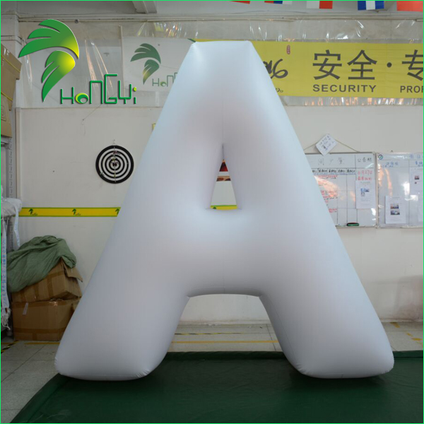 Custom Giant Inflatable Letters , Inflatable Alphabet Character Balloon For Decoration
