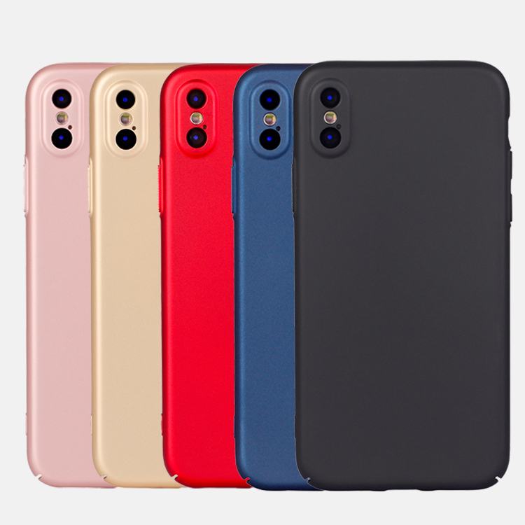 2018 New Arrival Matte PC Cell Cover for iPhoneX Ultra Slim Case