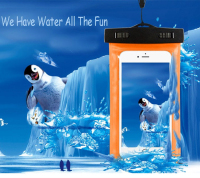 Wholesale Phone Waterproof Case waterproof cell phone cases mobile phone PVC waterproof bag for promotional gift