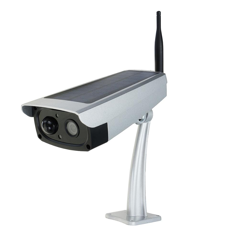 Outdoor IP66 1080P 2MP wireless PIR WiFi solar powered security cctv <strong>camera</strong>