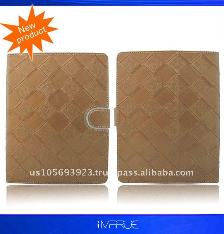 Leather Case for Ipad 2 with top quality and factory price