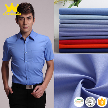 High Quality Super Soft Woven Plain 40S 100 Cotton Poplin Fabric for Mens Shirt