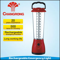 CR-8036B Best Quality LED Rechargeable Emergency Portable Light With Battery Operated