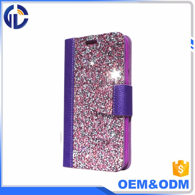 cell phone case display diamond cover case custom design cell phone case for iphone 7 6