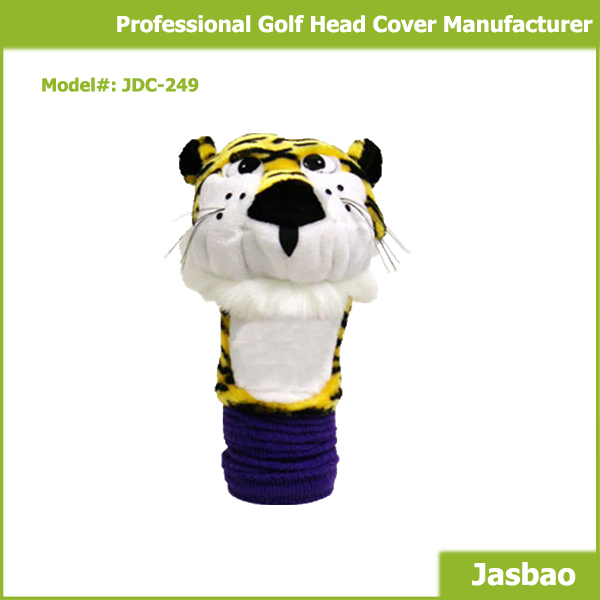 Wholesale Novelty Custom Made Tiger Golf Head Covers