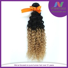 Nice day girl virgin hair latest curly remy hair weft hair extension