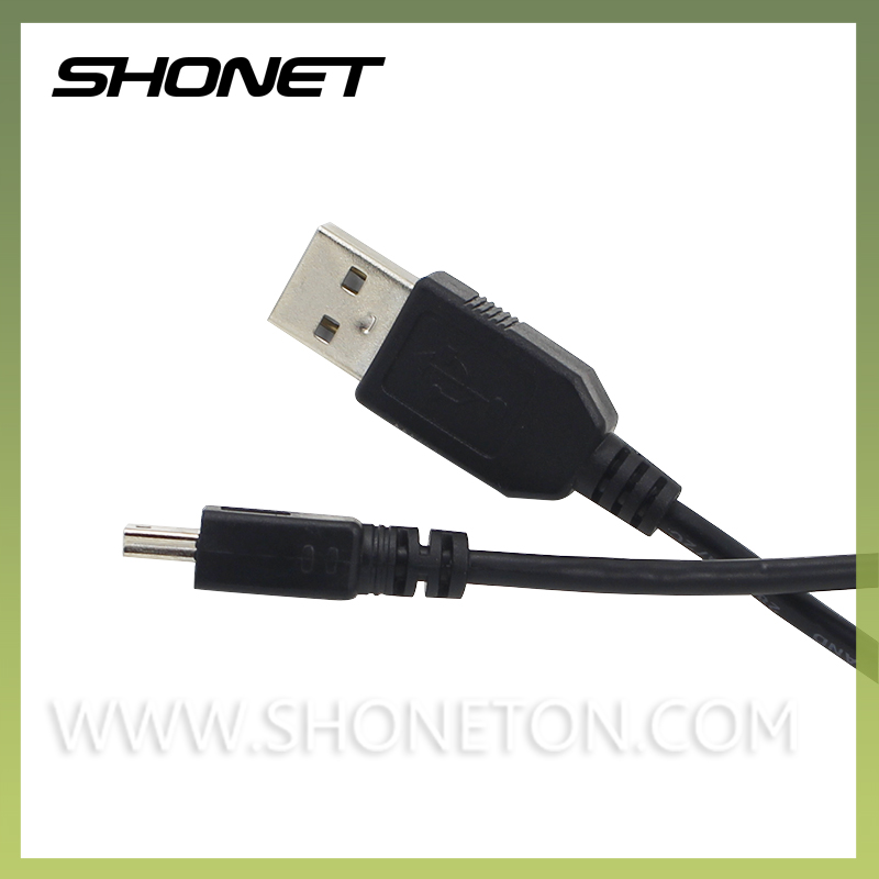 wholesale factory price black mini 5pin olympus usb data cable