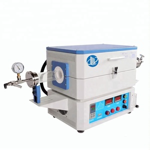Laboratory Heating equipments high temperature electric muffle vacuum tube furnace 1400C