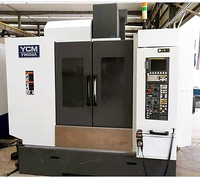 Taiwan YCM106A vertical machining centre cnc vmc milling machine price