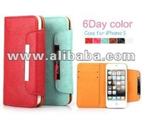 New Inci mobile phone cover leather for iPhone5 each in detail box