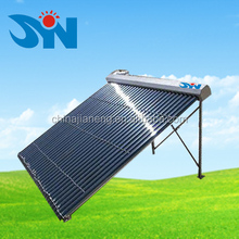 evacuated tube solar water heater collector for swimming pool heating