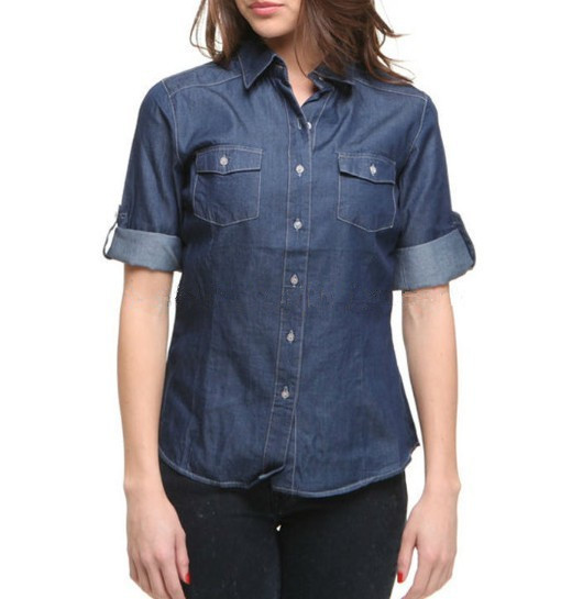 Professional Factory Cheap Wholesale Top Quality fashion women shirts for sale