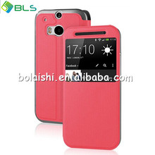 2014 new design stand and waterproof case for htc one m8
