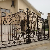 Luxury Automatic Wrought Iron Driveway Gate