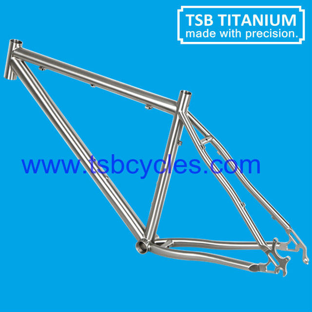 Best popular mtb titanium bicycle frame 26er with competitive price TSB-MBM0901