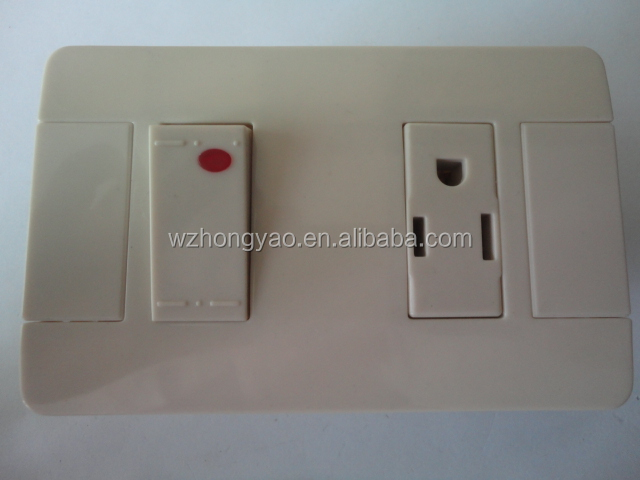 Electrical Wall Socket +Switch with light Best Selling