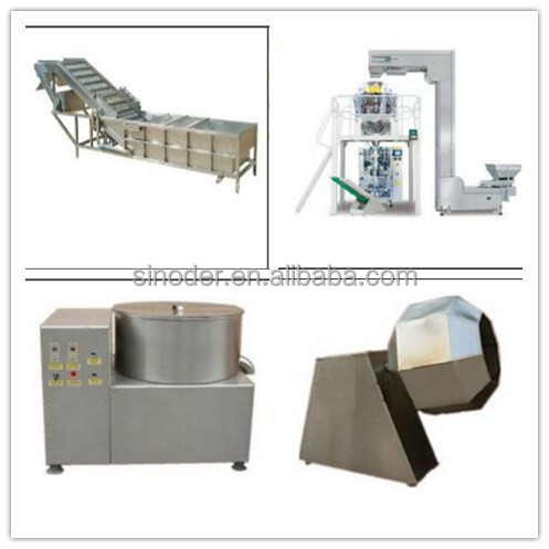 high quality Fruit Washing Production Line vegetable washing machine vegetable blanching machine for sale