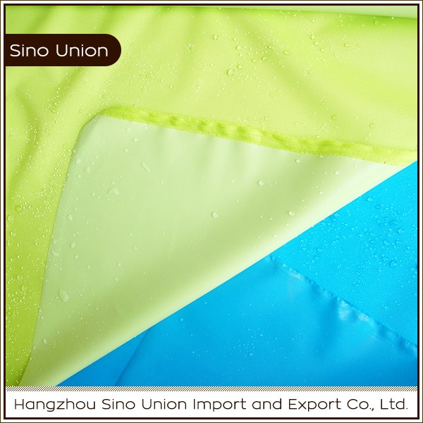 Alibaba online sell waterproof plain 300d polyester oxford fabric with pu coating