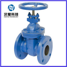 "Ductile iron PN16 4"" water gate valve"