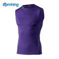 wholesale mens gym wear men quick dry dri fit sports compression T shirt gym wear men