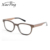 vintage changeable round wood frame clear prescription glasses frames