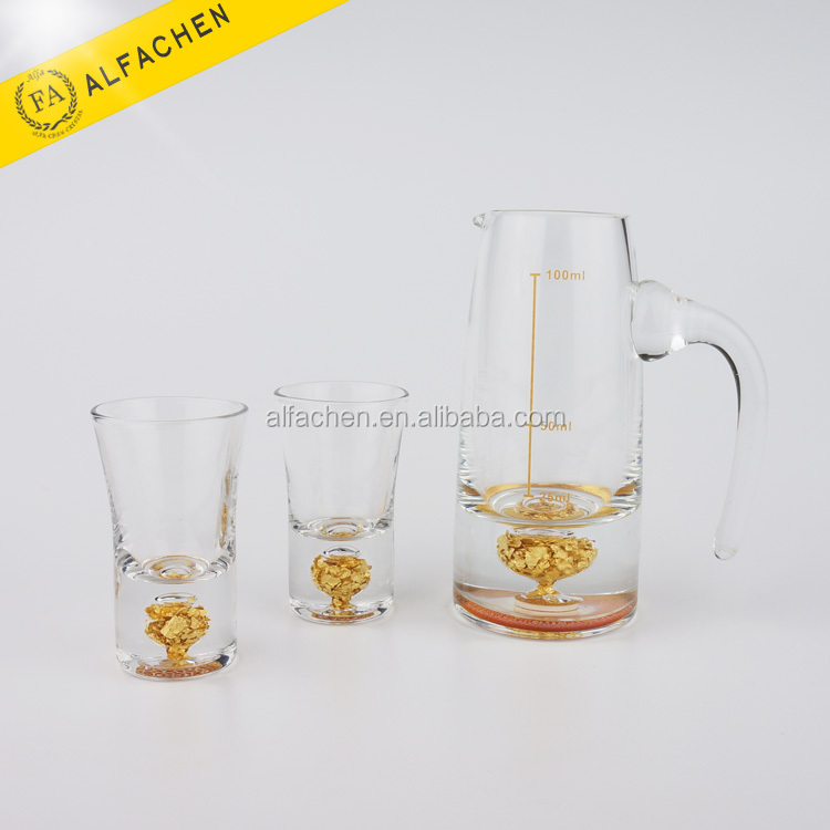 Beautiful Exquisite Pitcher Glass Drinking Set / Crystal Pitcher / Crystal Glass Dinner Set