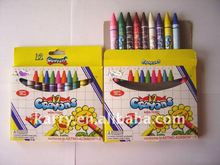 Nontoxic 12-color Crayons Set, Middle Size
