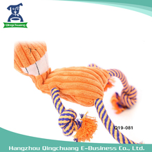 Dog toy bite rope with sound super coffee cat