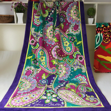 Factory Professionally Customized Floral Pattern Printing Textile Beach Towel