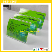 transparent acrylic name card holder acrylic card display cases