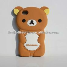 rilakkuma silicone cover for iphone4 4S