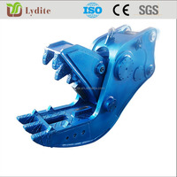 Construction Demolition Tool Hydraulic Excavator Pulverizer Concrete Crusher For Excavator