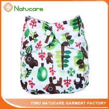 Waterproof Reusable Baby Cloth Diapers Design Long Lasting