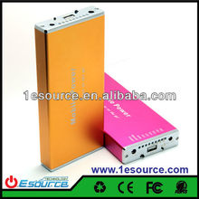 Portable rechargeable Power bank,high capacity portable harga power bank charger