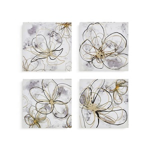 Classical Wall Decoration Printed Flowers on Canvas Painting Canvas Wall Art