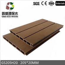 Ecological Wood-plastic Composite outside wpc panel wall hot selling wpc wall cladding
