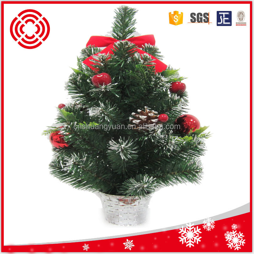 45cm pvc decoration mini tree