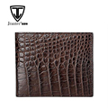Brown Genuine Croc Belly Skin Men Wallet