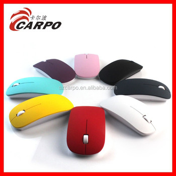Hot sales the cheapest wireless mouse from christmas ideas 2014