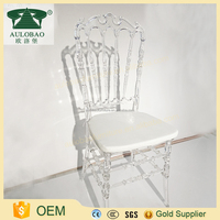 Good appearance stackable china clear crystal chiavari chairs,wholesale chair for sale