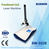 professional!!! best effective fractional CO2 laser scar removal/super pulse co2 laser with USA rf tube