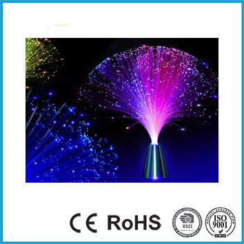 Colourful Changing Fibre Optic Lamp
