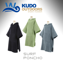 100% Cotton Soft Surf Changing Robes Surf Beach Poncho